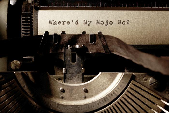Where did my mojo go_typewriter