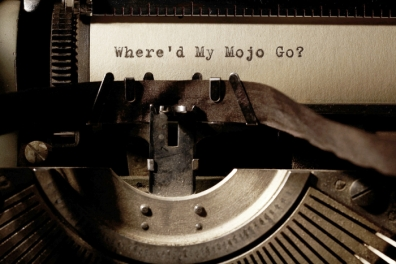 Where did my mojo go_typewriter