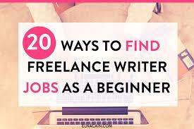 20 ways to freelance-elna cain