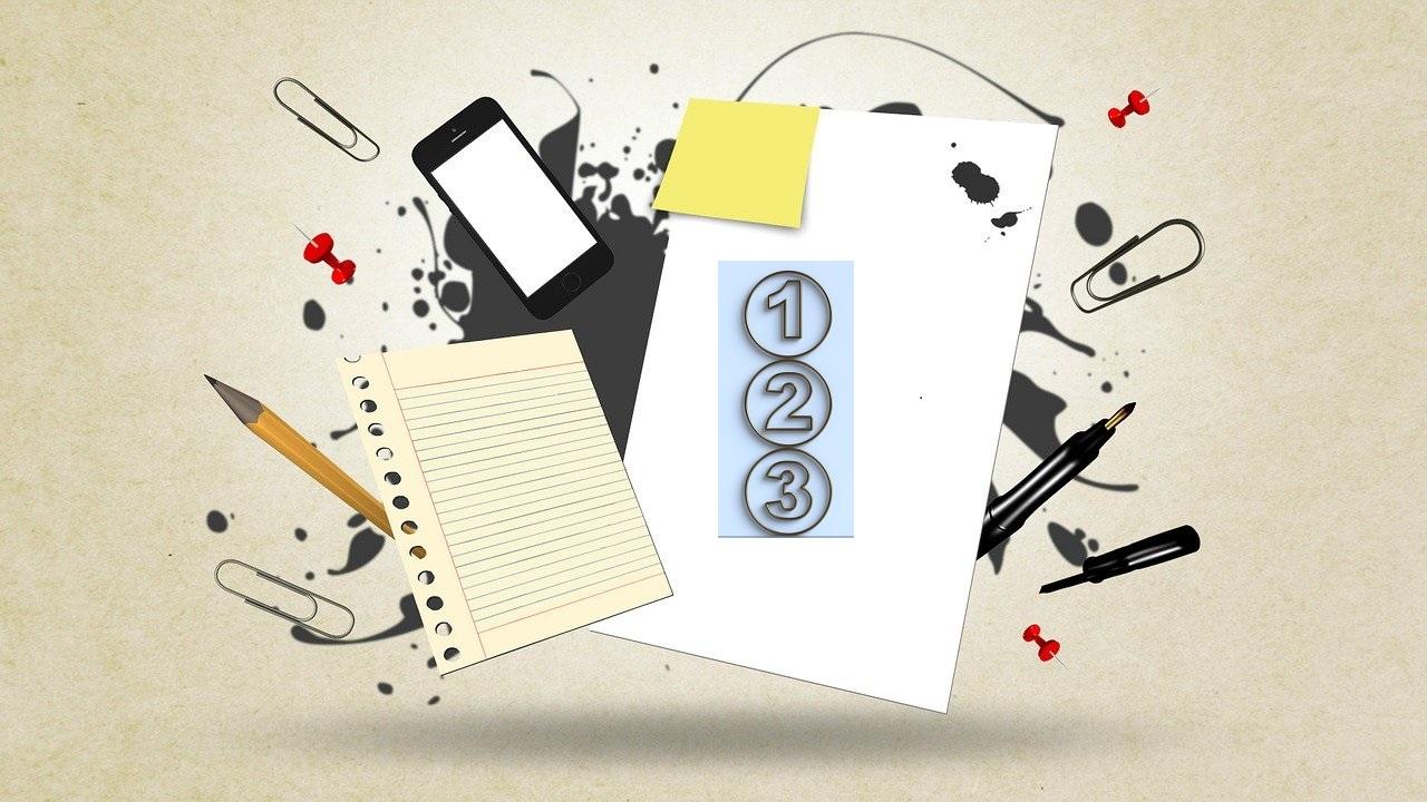 writing graphic